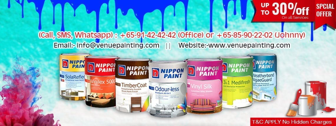 Exterior & Interior Professional Painting Services Provider in Singapore