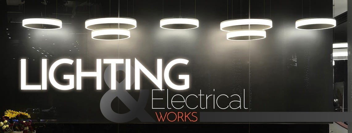 Lighting works venue painting services